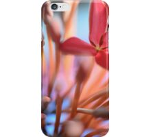 Tropical Flowers Macro iPhone Case/Skin
