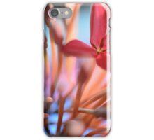 Tropical Flowers Macro iPhone Case/Skin