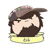 JonTron: The Ech Flower Crown by SecretlyMBarry