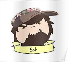 JonTron: The Ech Flower Crown Poster
