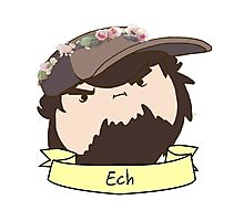 JonTron: The Ech Flower Crown Photographic Print