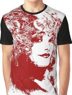 Curly Haired Lady Graphic T-Shirt