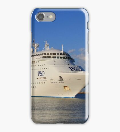 Pacific Jewel cruise ship iPhone Case/Skin