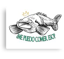 """Puedo comer eso """"Can I eat that?"""" Canvas Print"""
