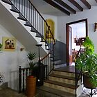 An Inner Courtyard In Soller.............................Majorca by Fara