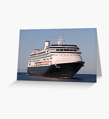 Cruise ship 6: Volendam Greeting Card