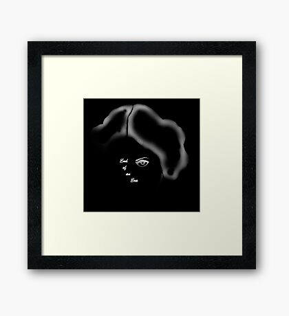 Star Wars Princess Leia (Carrie Fisher) End Of An Era Framed Print