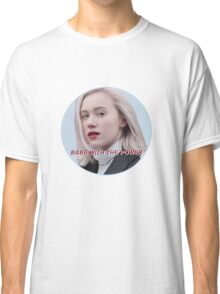 Skam Noora Babe With The Power Classic T-Shirt