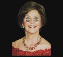 Laura Bush - 4 Crazy Eyes by ChevCholios