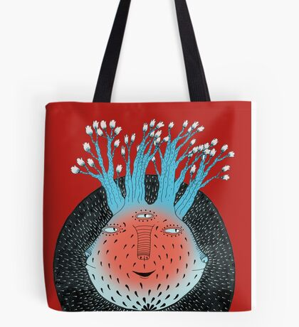 Cosmic Epiphany Heart Tote Bag