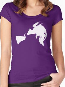 Last Guardian Women's Fitted Scoop T-Shirt