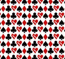 Is Love a Game? (pattern) Sticker