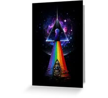 The Dark Side of the Mystery Greeting Card