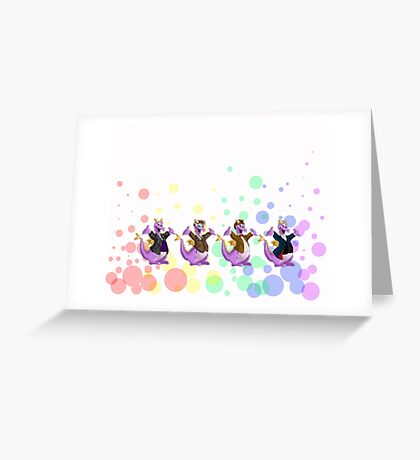 Imagination is best, when it is set free... Greeting Card
