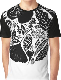 The magical world of nature, Linocut art Graphic T-Shirt