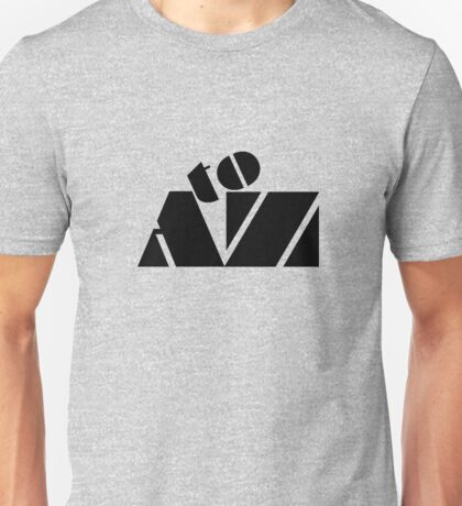 """""""A to Z"""" typography Unisex T-Shirt"""
