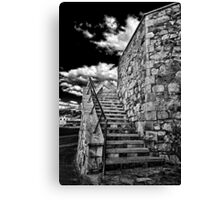 THE STAIRCASE... Canvas Print