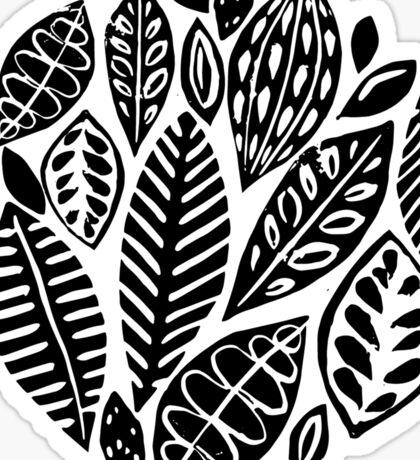 Summer leaves Sticker