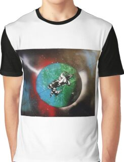 Stunt Rider In Space Graphic T-Shirt