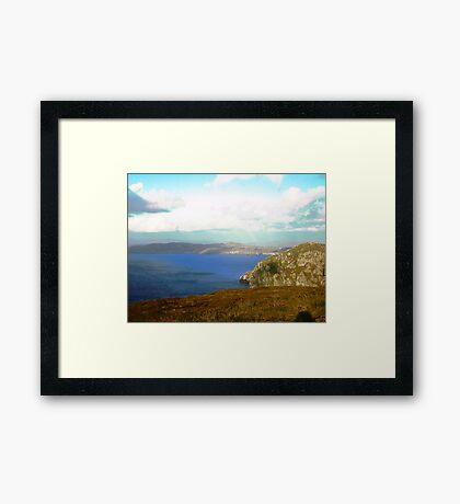 Horn Head Peninsula, Donegal, Ireland Framed Print