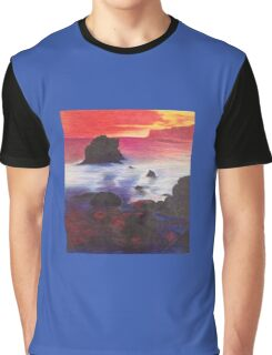 The Rock at Sunset Graphic T-Shirt