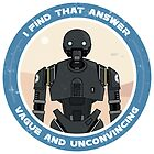 K-2SO Sticker (Rogue One: A Star Wars Story) by nathancruse