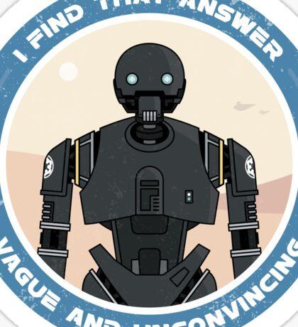 K-2SO Sticker (Rogue One: A Star Wars Story) Sticker