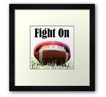 American Football Games -Fight On! Win It Framed Print