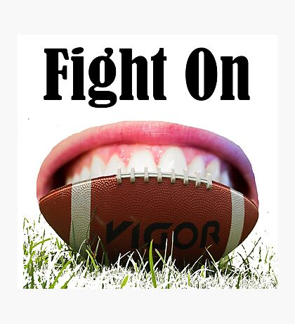 American Football Games -Fight On! Win It Photographic Print