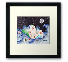 Underwater Dreams (king size duvet) Framed Print