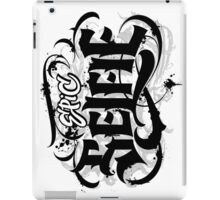Bold Grunge Tattoo Goth Lettering - Epic Selfie - ipad iphone  iPad Case/Skin