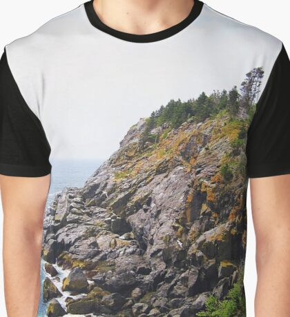Rocky Cliff Graphic T-Shirt