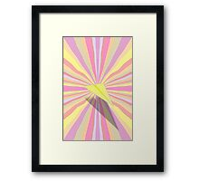 Paper Airplane 69 Framed Print