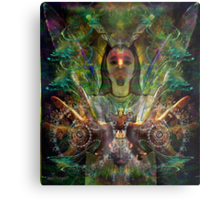 Color in Your Hands - the Luminarian (Art & Poetry) Metal Print
