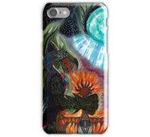 Dragon King, Keeper of the Mourning Star Blade iPhone Case/Skin