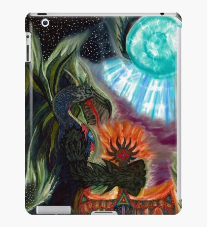 Dragon King, Keeper of the Mourning Star Blade iPad Case/Skin