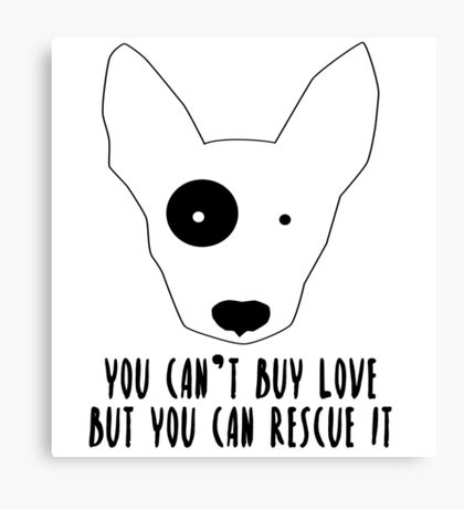 Dog Rescue Canvas Print