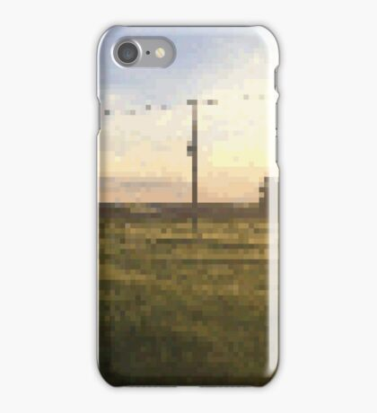 Meadow PixelArt iPhone Case/Skin