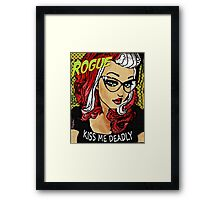 Rogue / Kiss Me Deadly Framed Print