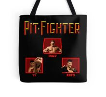 Pit-Fighter (Genesis Title Screen) Tote Bag