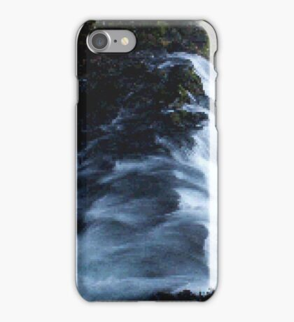 Waterfall PixelArt iPhone Case/Skin
