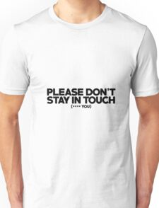 Lily Allen - Lyric Quote Unisex T-Shirt