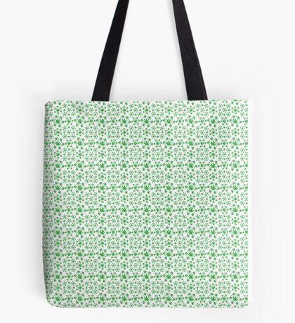 Marijuana Pattern Tote Bag