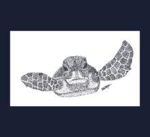 Green Sea Turtle One Piece - Short Sleeve