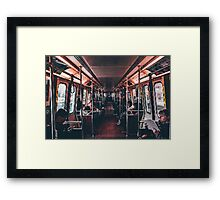 Transport PixelArt Framed Print