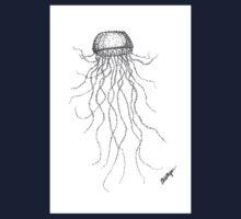 Jellyfish One Piece - Short Sleeve