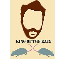 ALL HAIL THE KING (OF THE RATS) Photographic Print