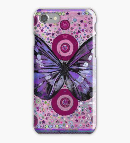 Purple Butterfly iPhone Case/Skin