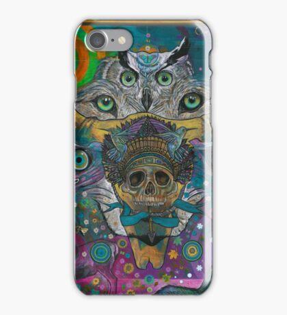 Totem in Blue iPhone Case/Skin