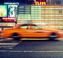 NYC Taxi by buko